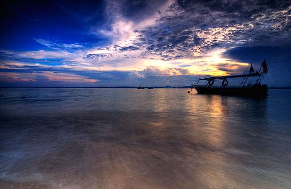 L'île de Kapas, Malaisie