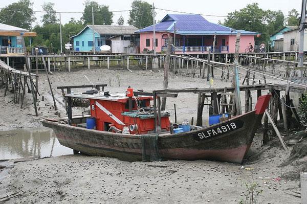 L'île de Ketam, Malaisie