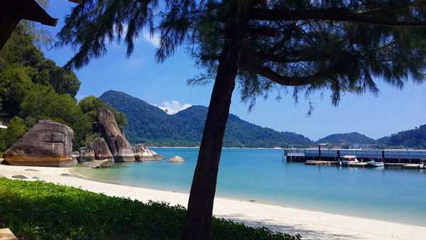 L'île de Pangkor, Malaisie