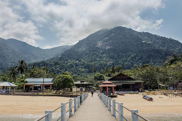 L'île Tioman, Malaisie