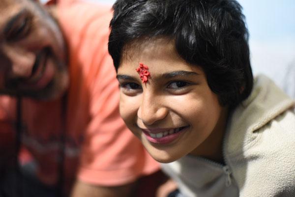 Nayla en Inde