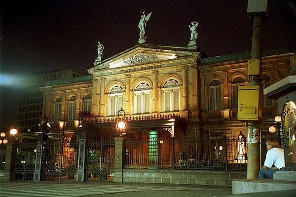Le Théâtre National de San José, Costa Rica