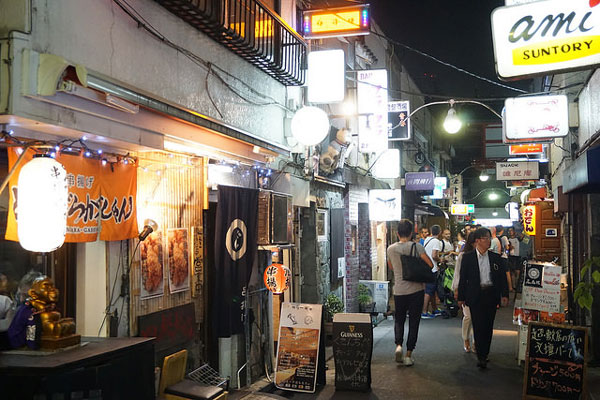 Le Golden Gai, à Shinjuku, Tokyo
