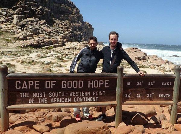 Vincent au Cape of Good Hope, Afrique du Sud