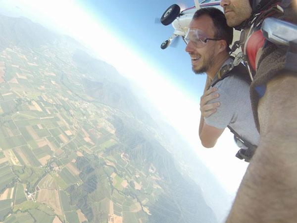 Skydiving en Australie