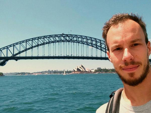 Vincent à Sydney, Australie