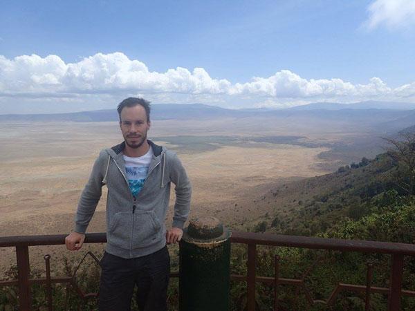 Vincent à Ngorongoro, Tanzanie