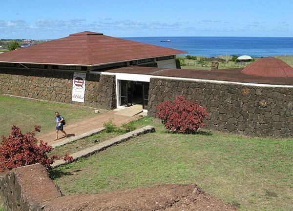 Le Musée anthropologique de l'Île de Pâques
