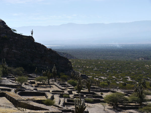 Le site des Ruinas de los Quilmes