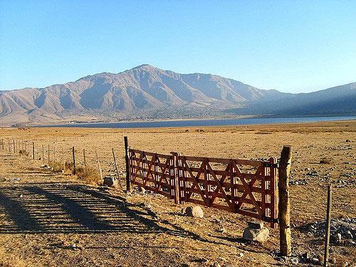 Le lac de Tafí del Valle