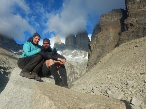 Caroline et Erwan durant leur voyage autour du monde