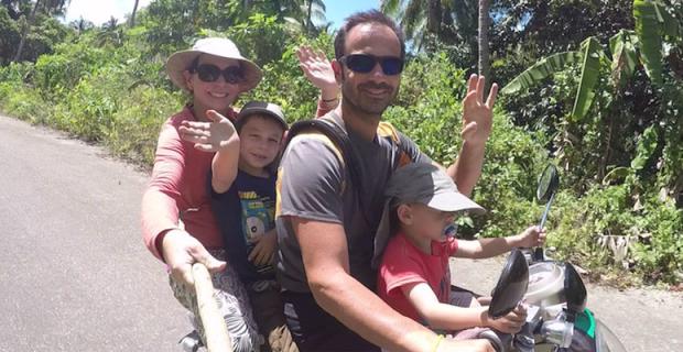 Interview voyageurs : Préparer un tour du monde en famille, Alice, Fred et leurs «petits voyageurs» racontent