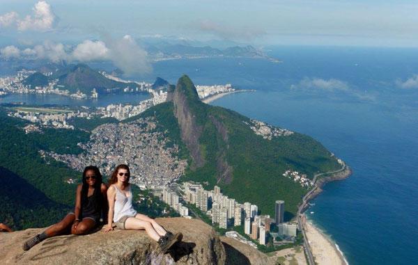 Amandine & Alice à Rio de Janeiro (Brésil)