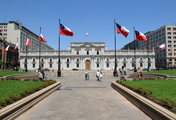 3 jours à Santiago du Chili : Palacio de la Moneda
