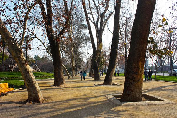 3 jours à Santiago du Chili : Parque Forestal
