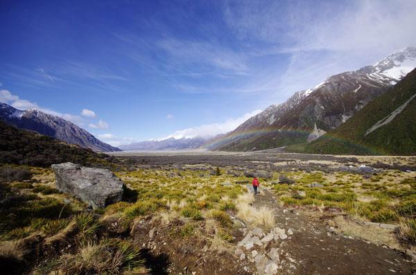 Le Mont Cook, en Nouvelle-Zélande