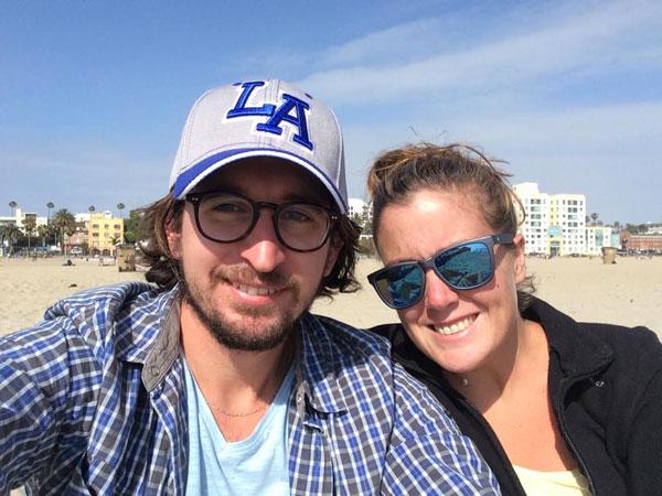 Camille et Allan à Los Angeles