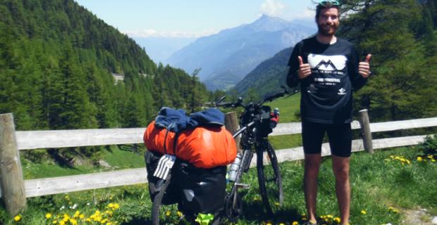 Interview voyageur : Alan, sa traversée de l'Europe à vélo, et son voyage en backpack autour du monde