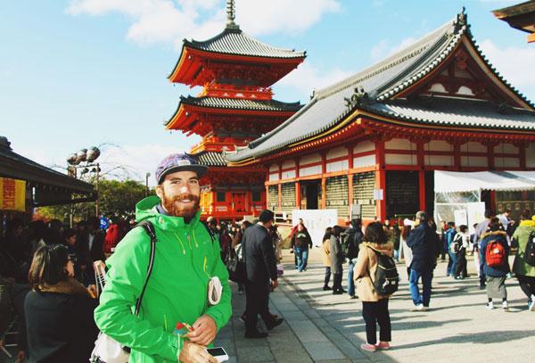 Découverte des temples de Kyoto, Japon