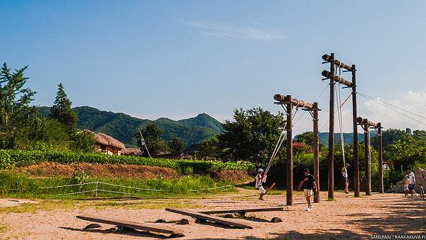 Village Hahoe, Corée du Sud