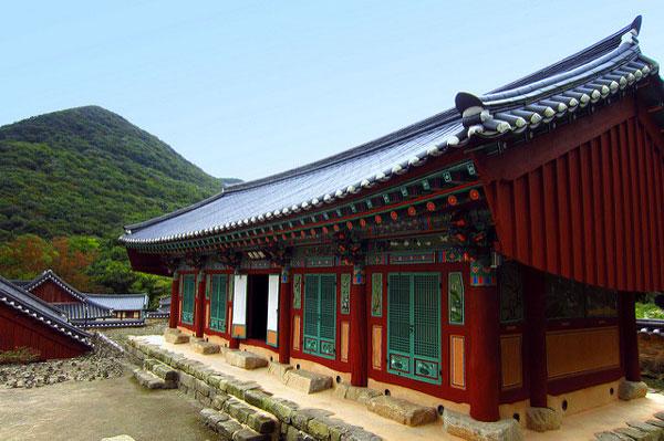Le Temple Seonunsa, Corée du Sud