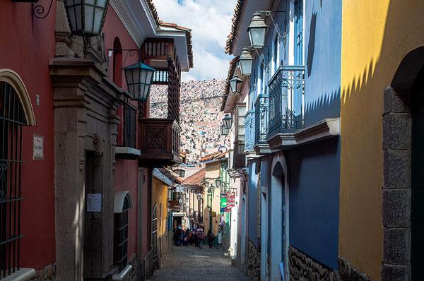 La jolie petite rue Jaén, La Paz