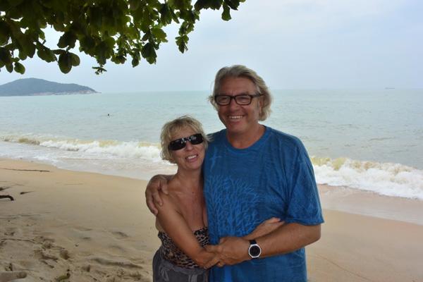 Catherine et Philippe en Thaïlande