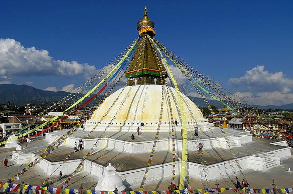 Bodnath, Népal