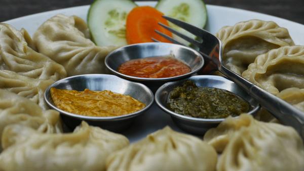 Momos, plat népalais