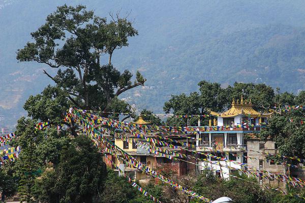 Swayambunath, Népal