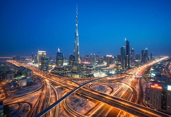 Dubaï : le Burj Khalifa