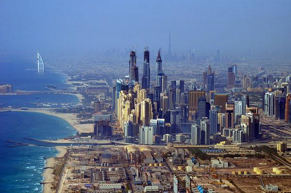 Dubaï : vue sur la ville