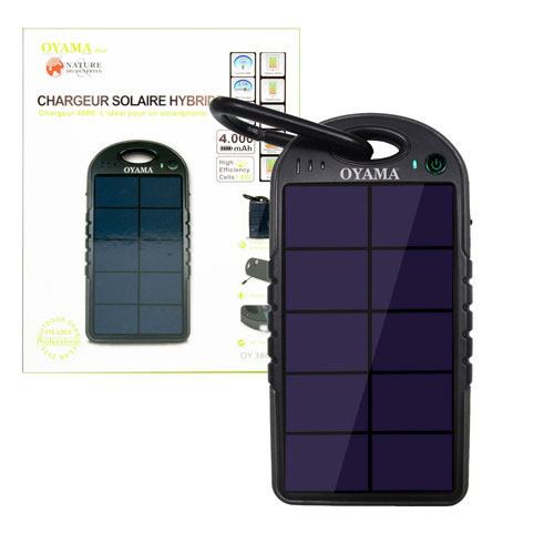 Chargeur solaire hybride
