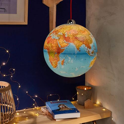 Globe suspendu Nature et Découvertes