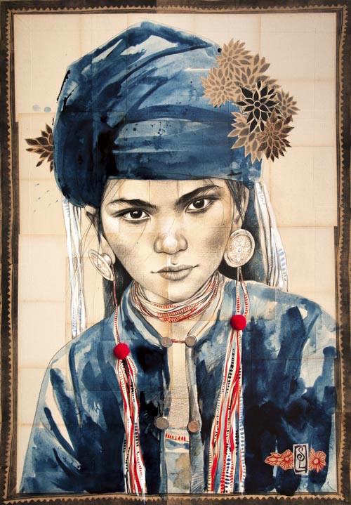 L'artiste et voyageuse Stéphanie Ledoux