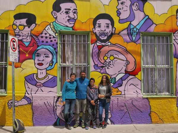 À Valparaiso, Chili