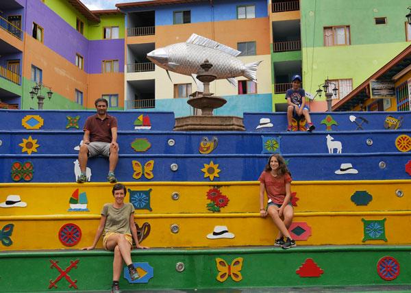 À Guatapé, Colombie