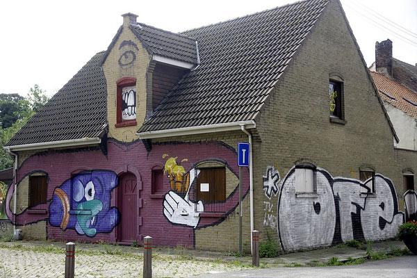 Doel, en Belgique
