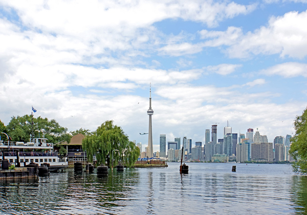 Toronto depuis les îles de Toronto