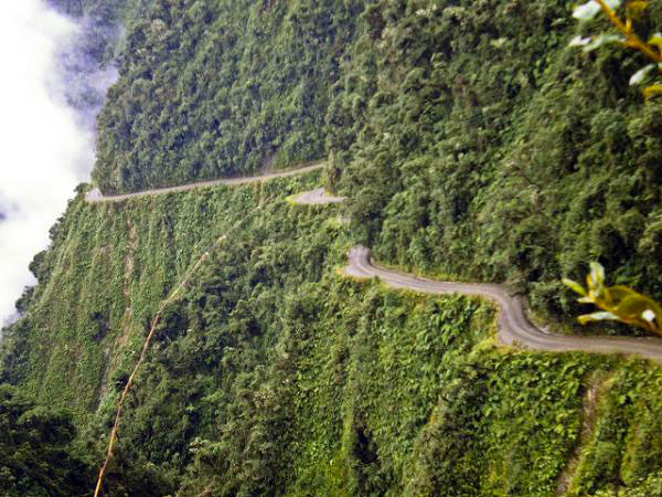 Route des Yungas, Bolivie