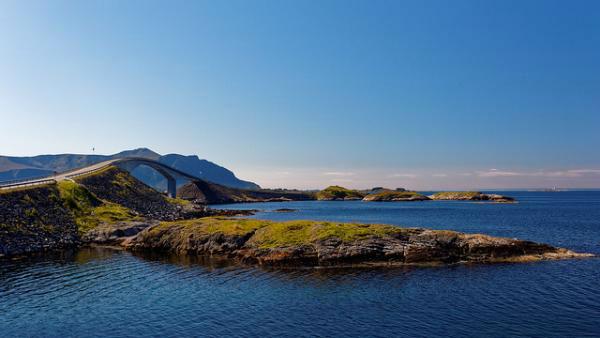 La route de l'Atlantique, en Norvège