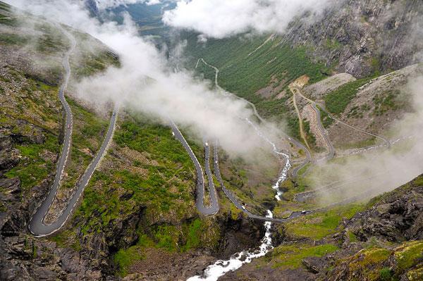 La route des Trolls, en Norvège