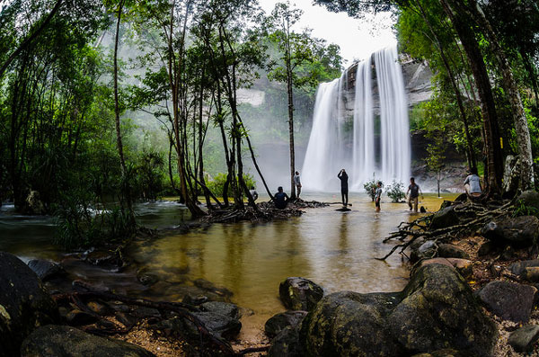Les chutes de Huai Luang