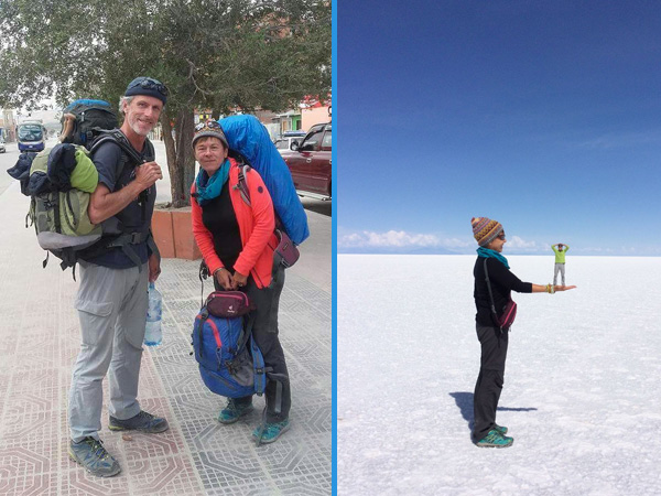 Voyager à 60 ans : Patrice et Laurence en Bolivie