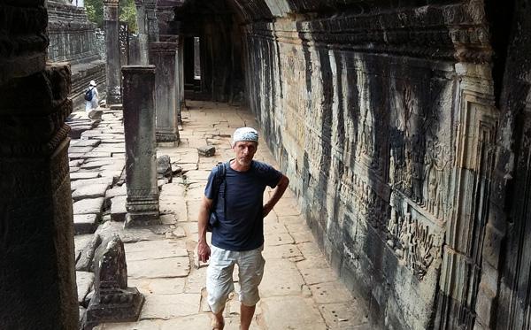 Voyager à 60 ans : Patrice au Cambodge