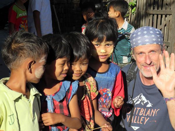 Voyager à 60 ans : Patrice au Myanmar