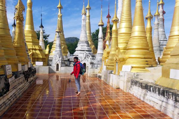 Voyager à 60 ans : Laurence au Myanmar
