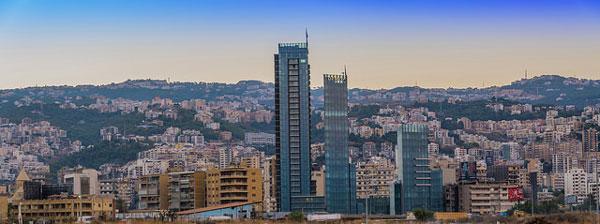 L'ancien et le moderne se côtoient à Beyrouth, Liban
