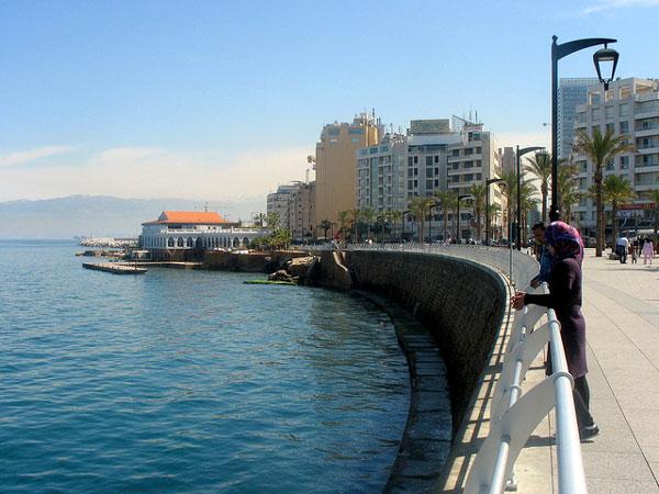 La Corniche à Beyrouth, Liban