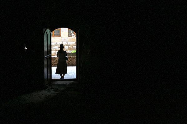 Le Couvent de Saint-Antoine de Kozhaya, dans la Vallée de Kadisha, Liban